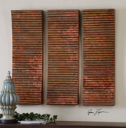 Adara Set/3 Wall Decor a Alternative Wall Decor by Uttermost