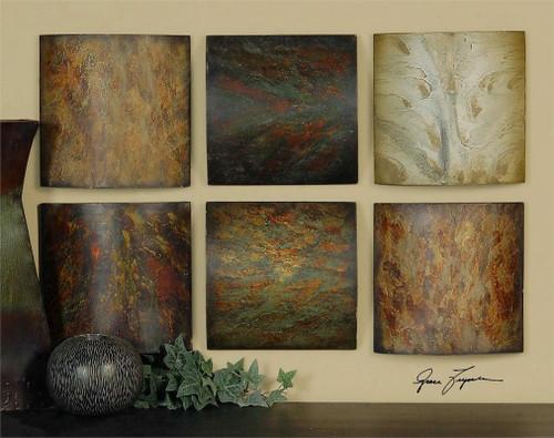 Klumme Collage Set/6 Wall Decor a Alternative Wall Decor by Uttermost