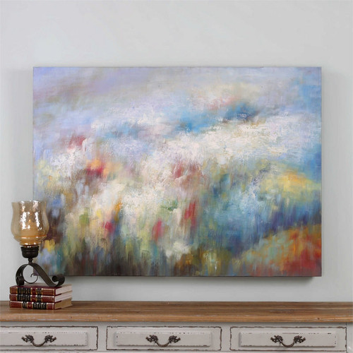 Breathe - Hand Painted Artwork a Paintings by Uttermost