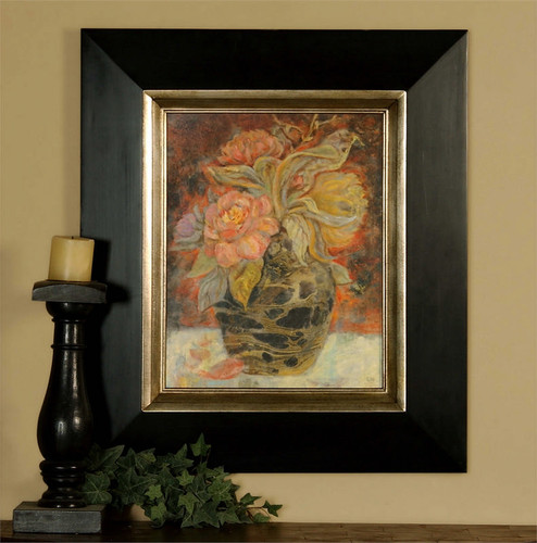 Floral Bunda - Oil Reproduction Artwork a Paintings by Uttermost