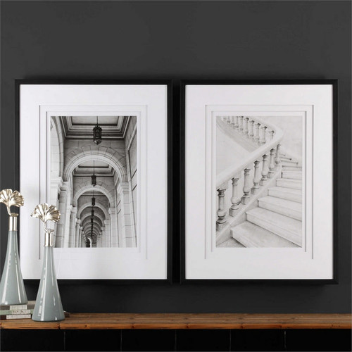Moments. Set/2 - Framed Artwork a Prints Framed by Uttermost