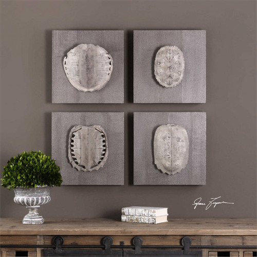 Terrapin Study Set/4 Wall Decor a Alternative Wall Decor by Uttermost