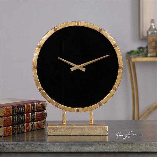 Aldo Mantel Clock by Uttermost