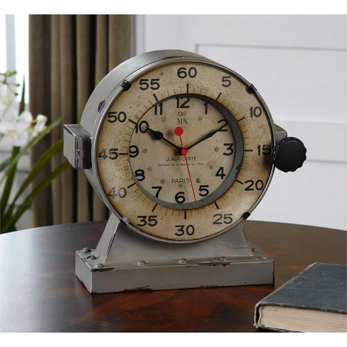 Marine Mantel Clock by Uttermost