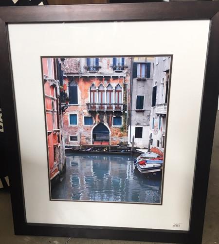 Frame Venetian Scene