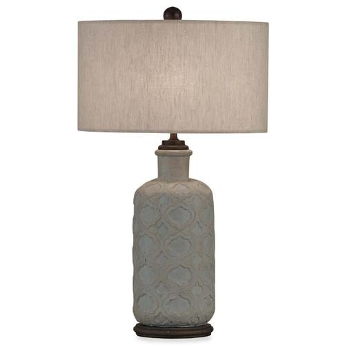 Venetian Table Lamp - Size: 74H x 46W x 46D (cm)