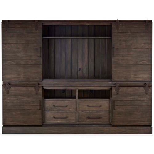 Sonoma 4 Door Sliding Cabinet - Size: 219H x 289W x 49D (cm)