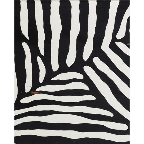 A640 Abstract Zebra by Bramble Co