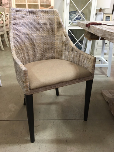 Cuban Armchair - Smoke Grey Wash