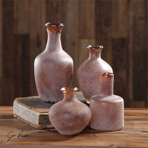 Carri Vases Set/4 by Uttermost