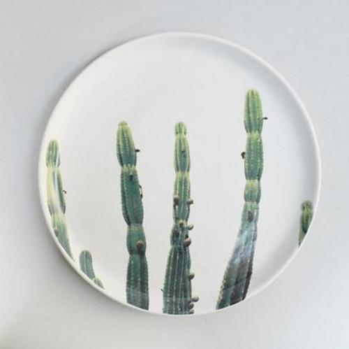 Cactus Ceramic Plate - 30cm