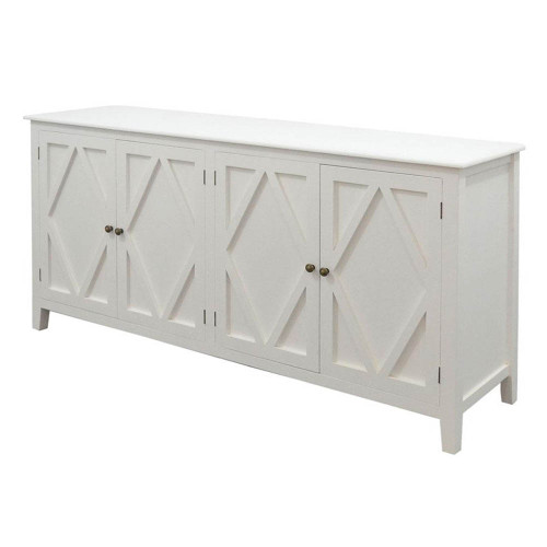 West Hampton 4 Door Sideboard - White