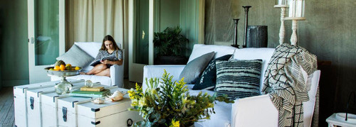West Hampton White Slip Lounge Suite