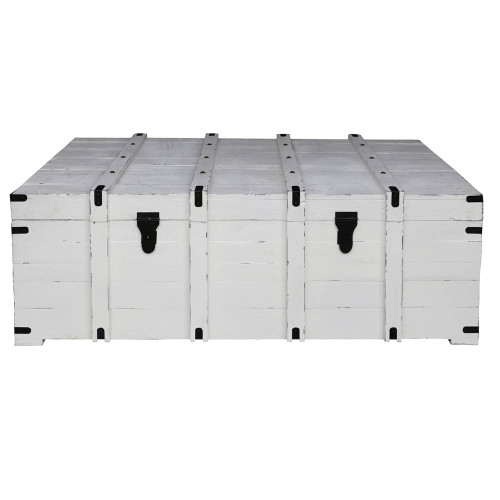 West Hampton Travellers Trunk - White