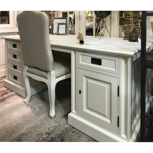 Classic Writing Desk - Antique White