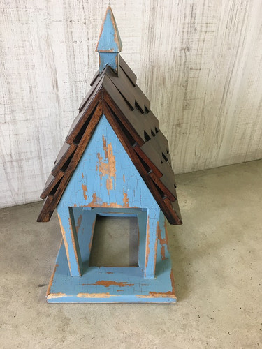 Bird Feeder C - Hand-crafted - FLOOR STOCK