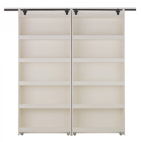 Hancock Double Sliding Bookcase/Door - Any Colour