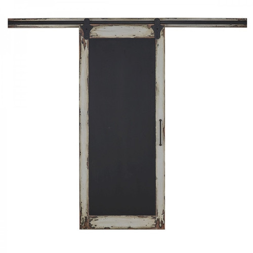 Cottage Single Sliding Door w/ Chalkboard - Any Colour