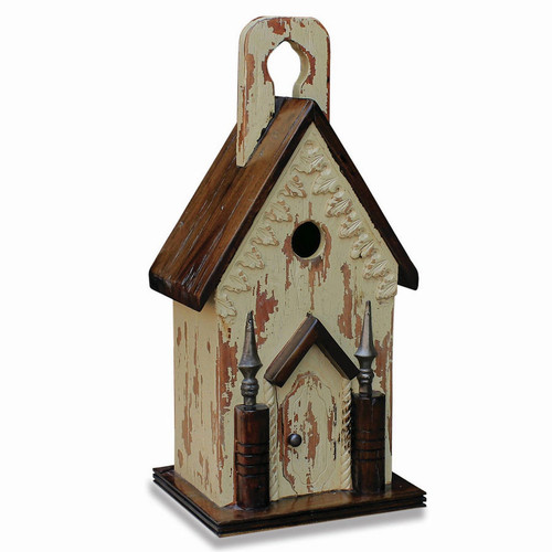 Bird House B - Hand-crafted - FLOOR STOCK