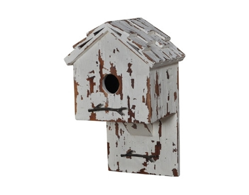 Bird House H - Hand-crafted - FLOOR STOCK