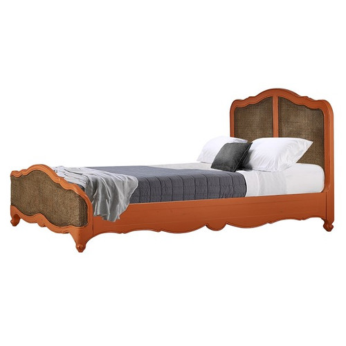 Covington Rattan Bed - Single - Any Colour