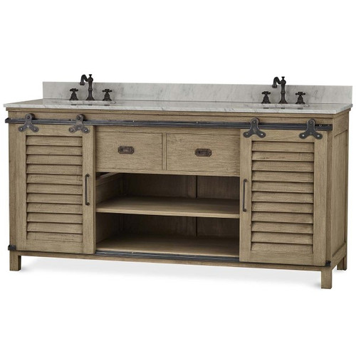 Sonoma Vanity w/ Sliding Shutter doors - Any Colour