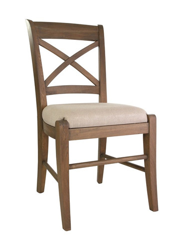 Bella House Cross Back Dining Chair - French Oak