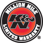 K&N Million Mile Warranty
