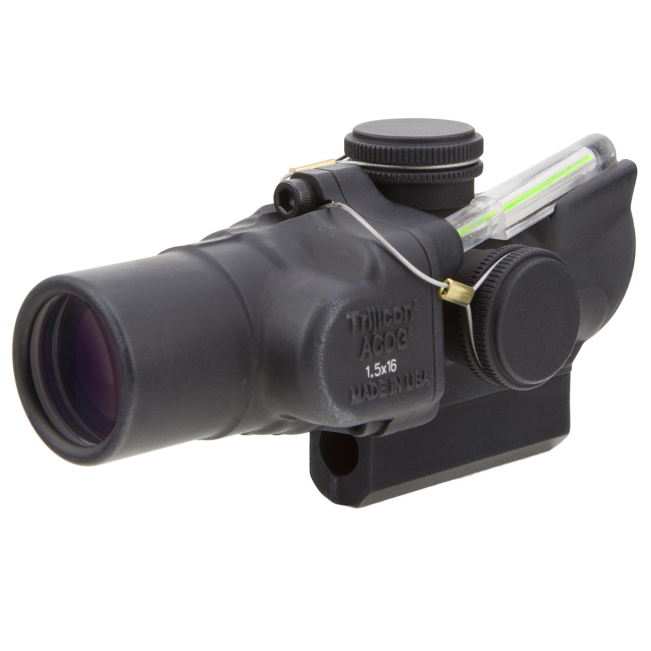 trijicon 1 5x16s compact acog scope dual illuminated green ring 2