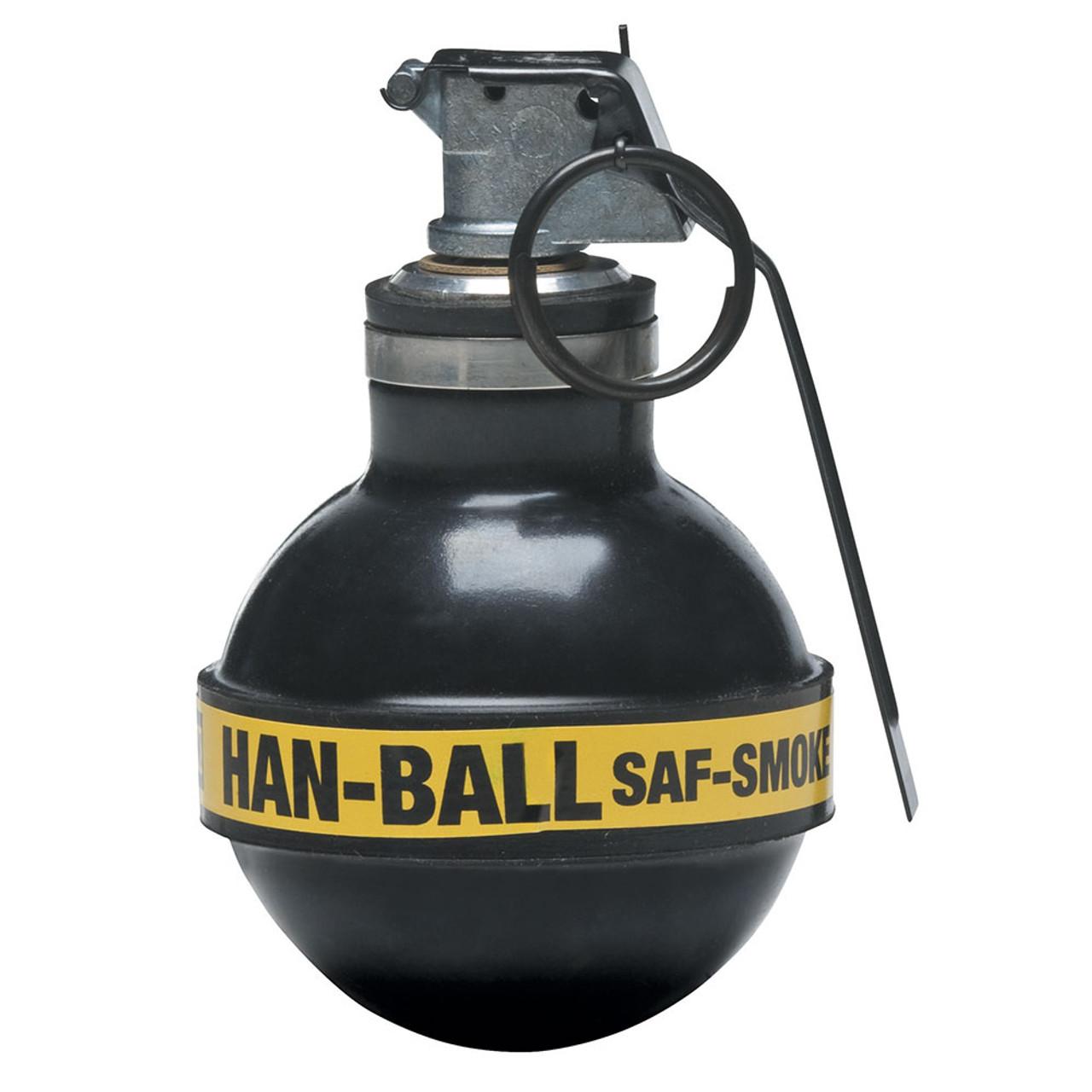 Def Tec Saf Smoke Rubber Ball Grenade Atlantic Tactical Inc