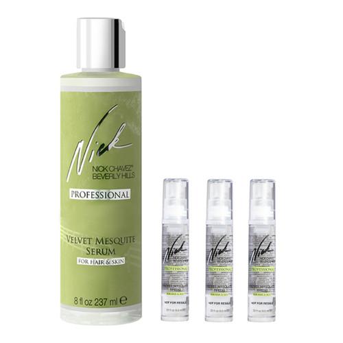 Velvet Mesquite Serum Travel Gift Set