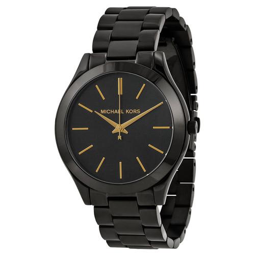 Michael Kors MK3221 Slim Runway Black Stainless Steel Unisex Watch