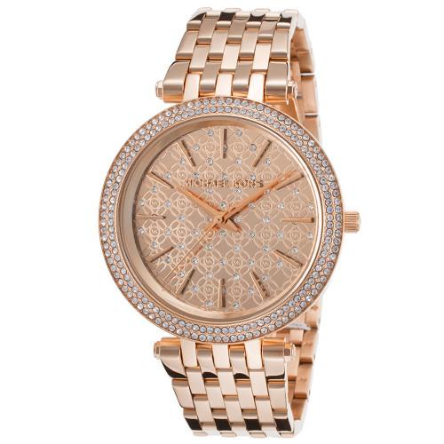 Michael Kors MK3399 Darci Crystal Rose Gold-Tone Stainless Steel Womens Watch