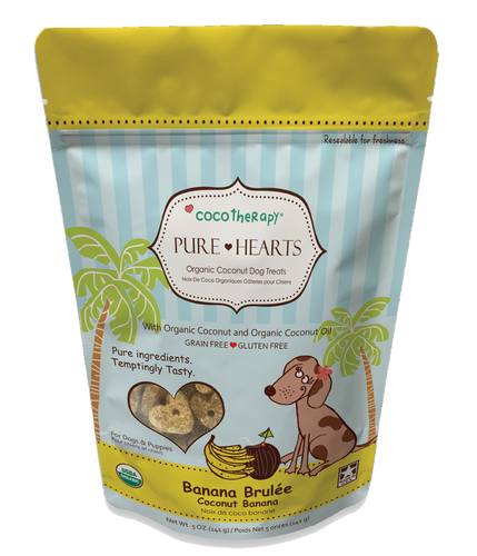 CocoTherapy Pure Hearts (Banana Brulee)