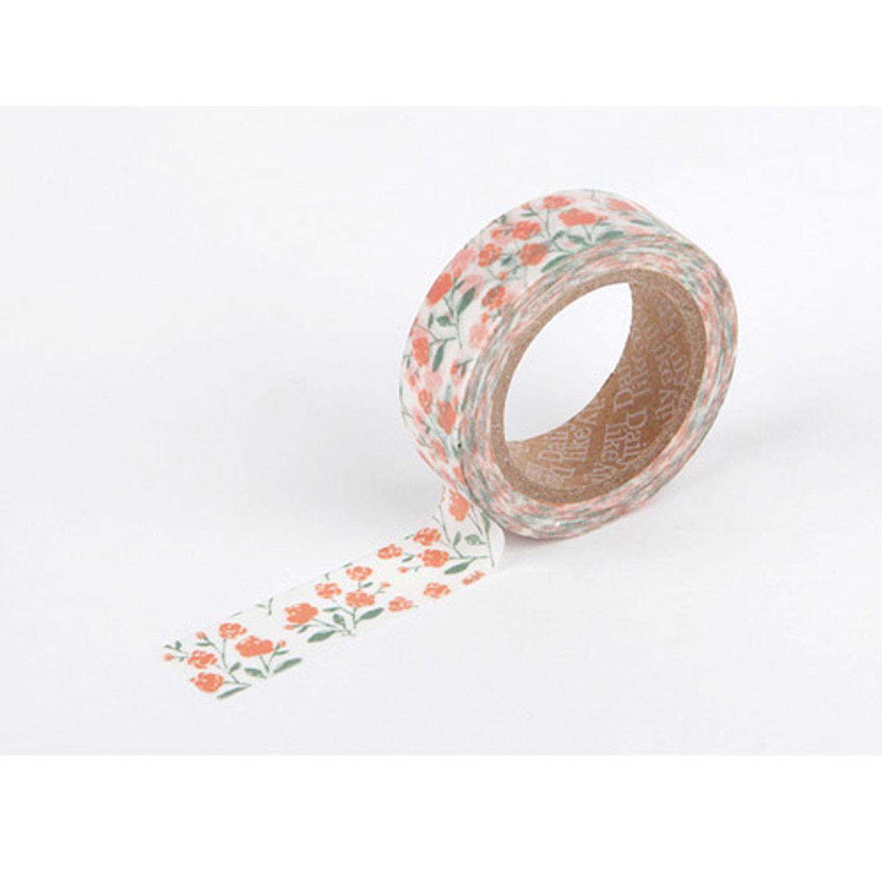 dailylike deco masking tape single rose garden. Black Bedroom Furniture Sets. Home Design Ideas