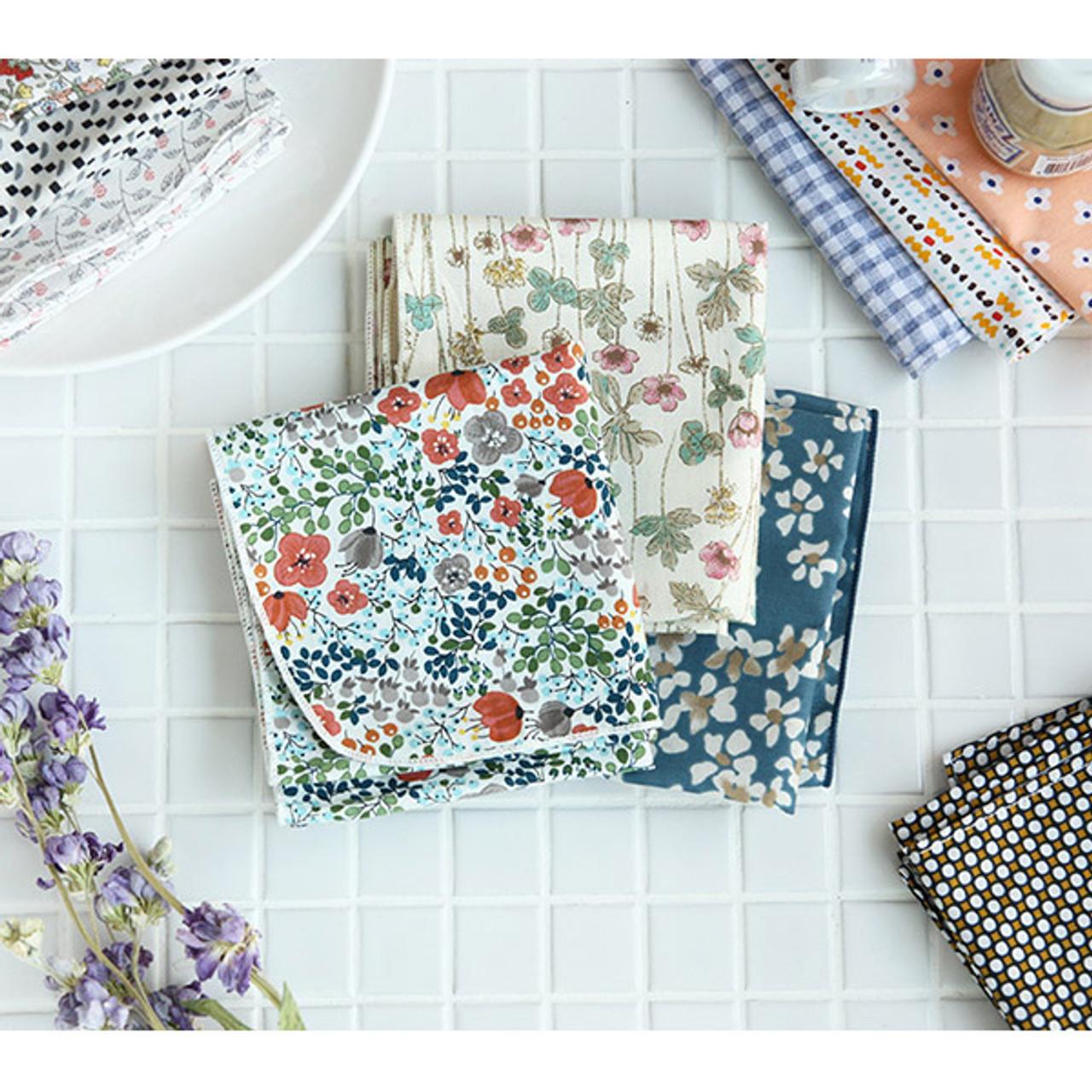 Livework Pattern Heimish Cotton Handkerchief Hankie