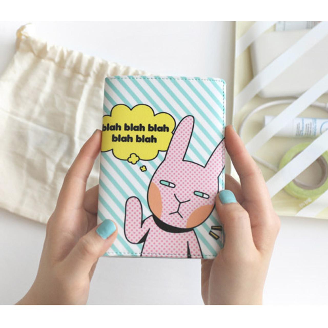 Romane Hellogeeks Pop Art Rfid Blocking Passport Cover