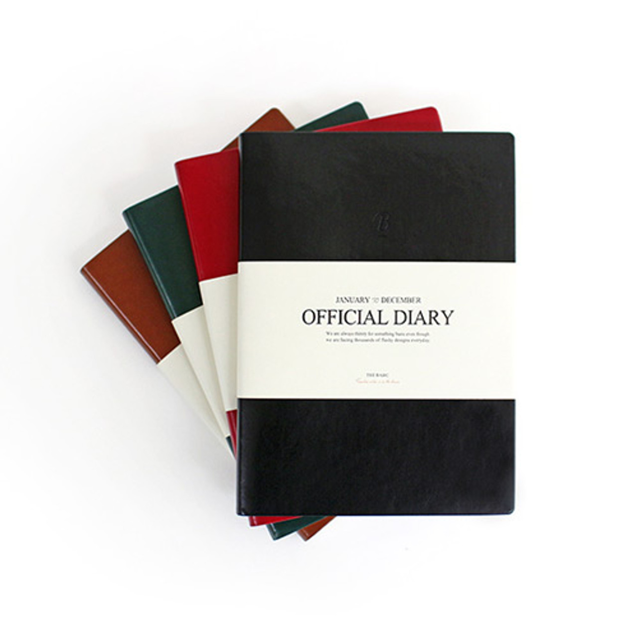 2016 Indigo The Basic Official Undated Diary Scheduler