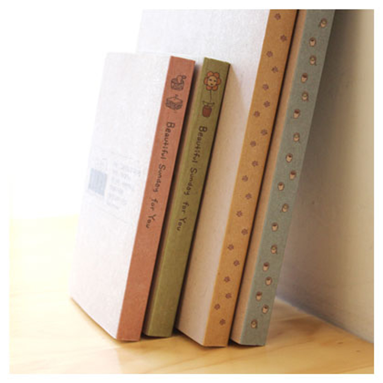 Eco Friendly Recycled Paper Handy Mini Notebook