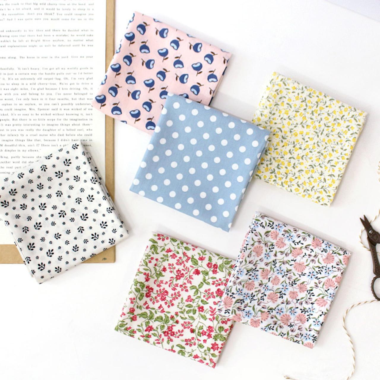 Indigo Pattern Daily Soft Handkerchief Hankie Ver2