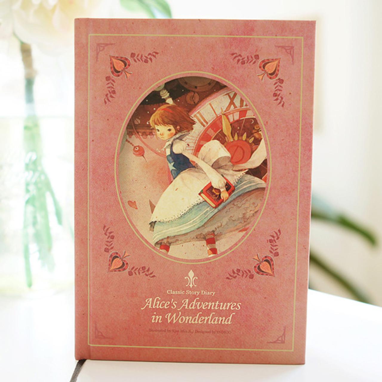 Indigo Alice S Adventures In Wonderland Undated Diary
