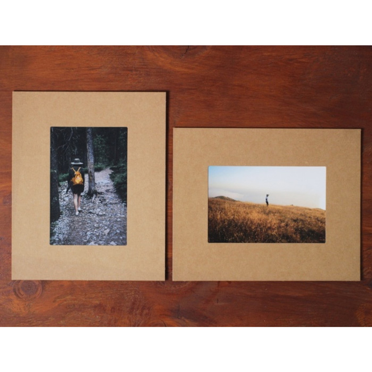 moods views 4x6 premium kraft paper photo frame set. Black Bedroom Furniture Sets. Home Design Ideas