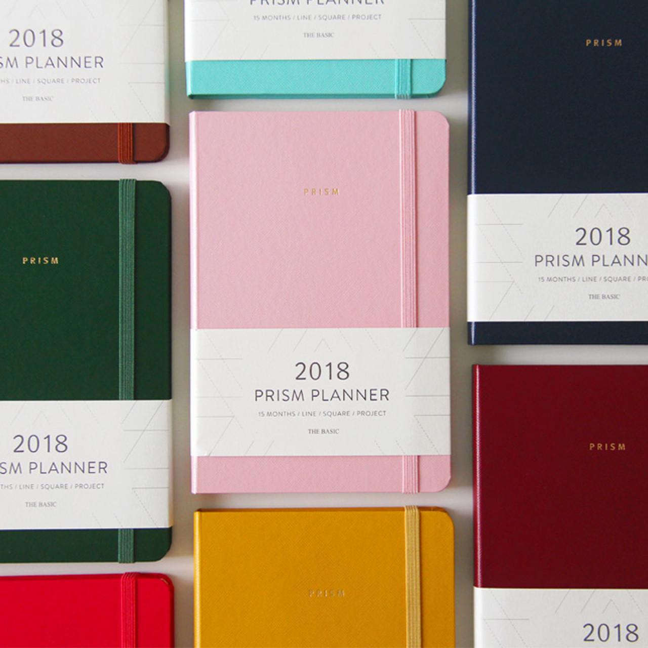 Indigo 2018 Prism Monthly Dated Planner Notebook