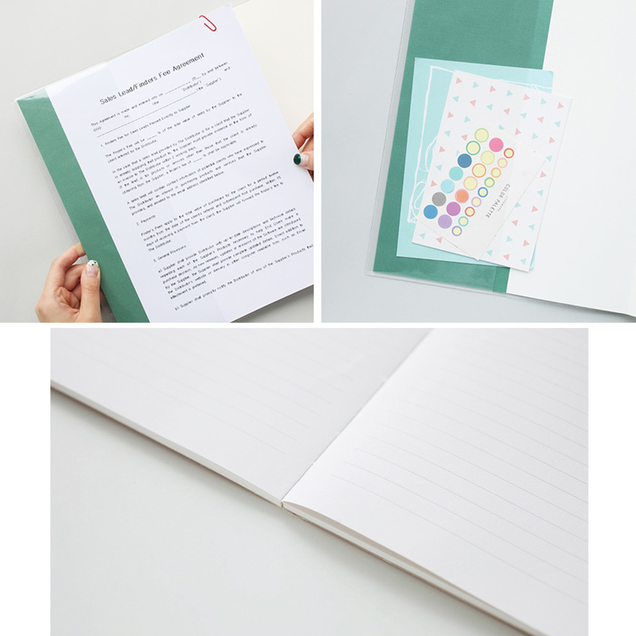 2018 A4 Large Dated Monthly Scheduler Planner Fallindesign