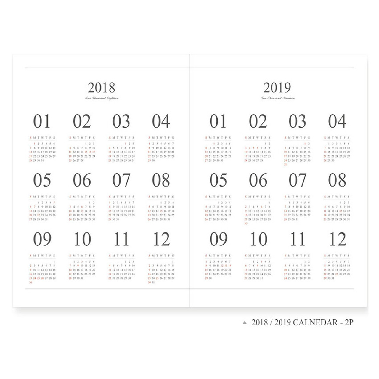 2018 indigo the basic official large dated monthly planner scheduler