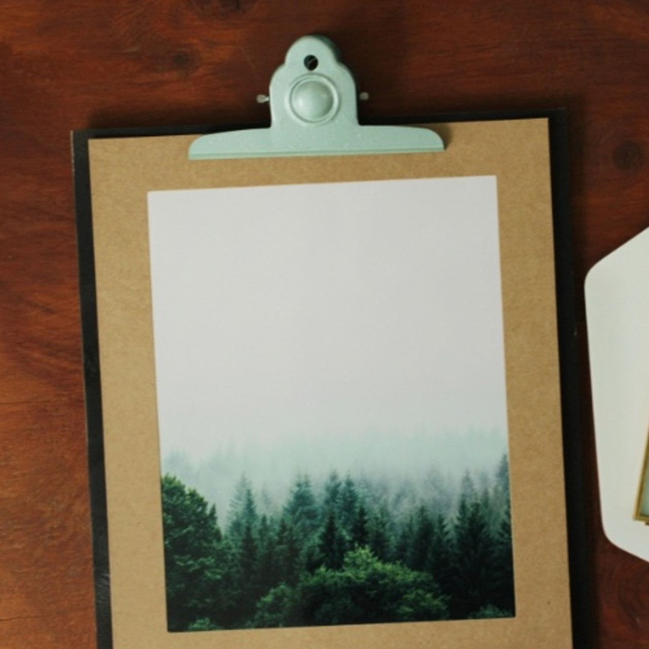 Moods&Views Square A4 Kraft paper photo frame with envelope