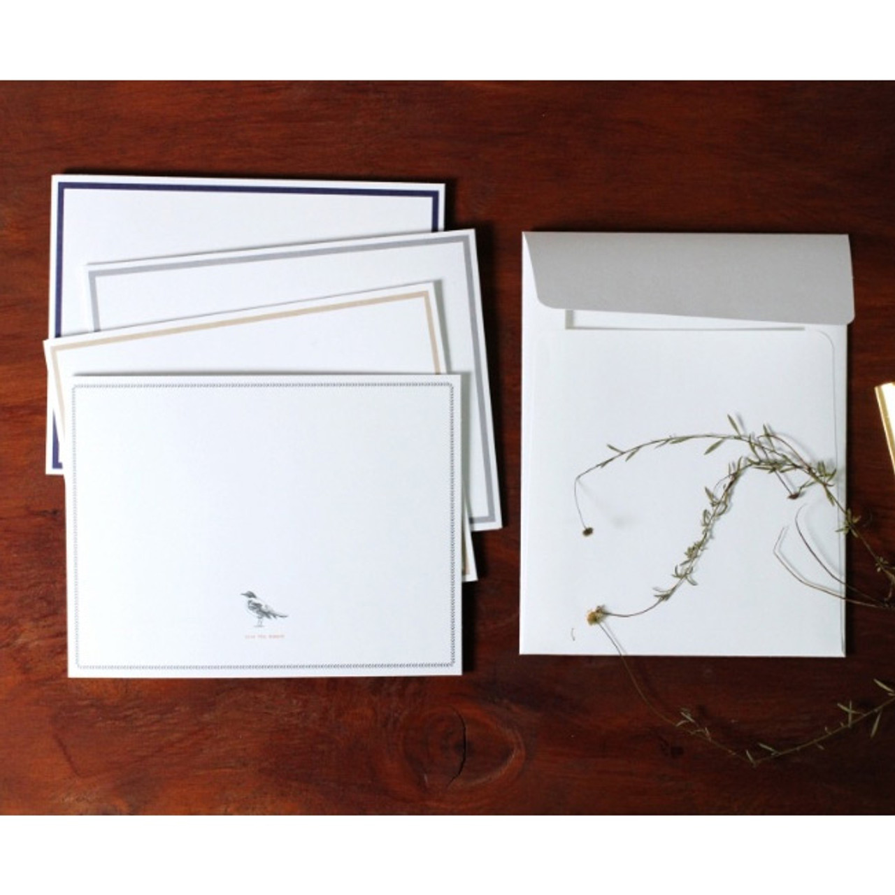 Moods views 4X6 photo frame card and envelope - fallindesign