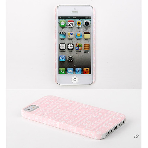 Dailylike Iphone 5 Pattern Phone Case Snow To Flower