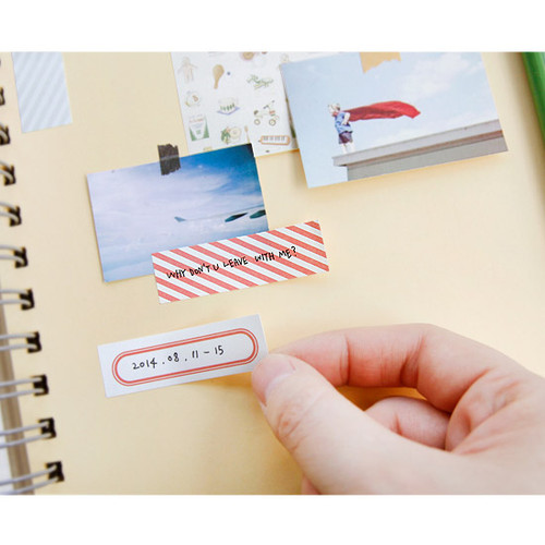 Iconic Sticky Book With Different Designed Sticky Note Ver 2