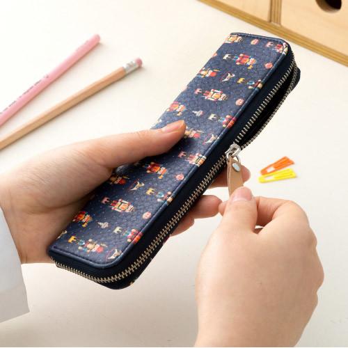 Ardium Pattern handy zipper pencil case - fallindesign.com